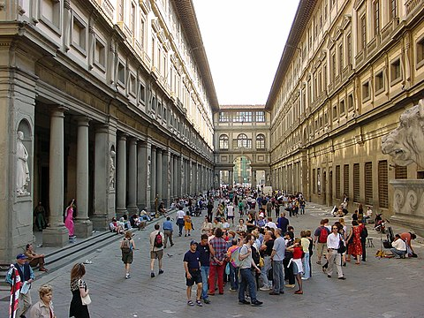 Florence Uffizi panoramio