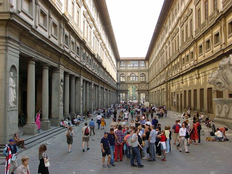 Galleria degli Uffizi (Florencia – Italia)