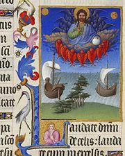 Une vision médiévale de Dieu dans les Très riches heures du duc de Berry