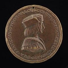 François, Duke of Valois, 1494-1547, afterwards François I, King of France 1515 [obverse]