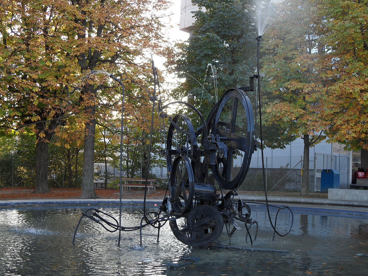 Px Fontaine Jean Tinguely Fribourg