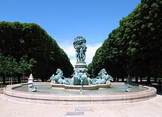 Fontaine de l'Observatoire - The Fontaine de l'Observatoire (1867-1874)