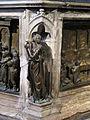 Fonte battesimale, donatello, speranza, 1427, 03.JPG