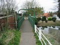Footbridge across the Bure between Coltishall and Horstead - geograph.org.uk - 400658.jpg