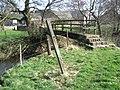 Footbridge near Westside Mill - geograph.org.uk - 1233626.jpg