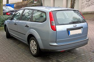 Ford Focus (second generation, Europe) - Turnier (pre-facelift)