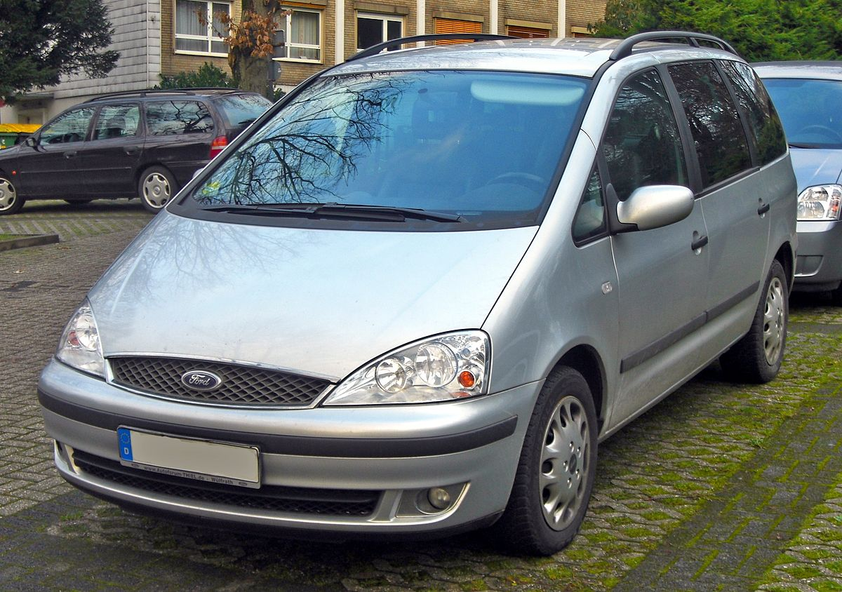Px Ford Galaxy I Tdi Facelift E Front Mj