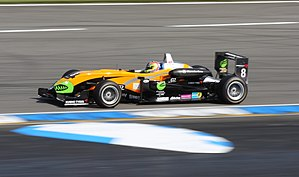 Sam Bird - Bird on the Formula 3 Euro Series at the Hockenheimring (2009)