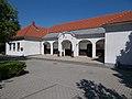 Former school building, Churchyard Heritage Tourist Centre, Dinnyés, 2017 Gárdony.jpg