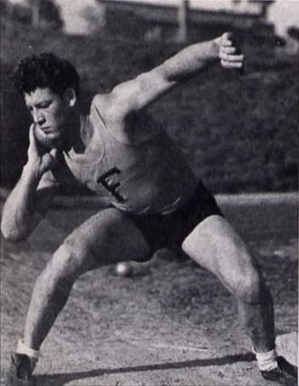 Forest K. Ferguson - Ferguson competed in field events for the Florida track team.