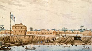 Name of Toronto - A garrison was established at what would eventually become Fort York, built to protect what would be the new capital of Upper Canada.