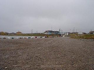 Fort Resolution Hamlet in Northwest Territories, Canada