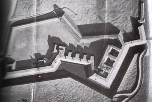 Fort Wagner - Model of Fort Wagner