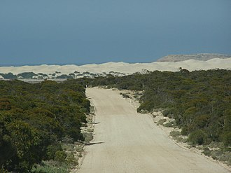 Fowlers Bay, South Australia - Image: Fowlers Bay approach