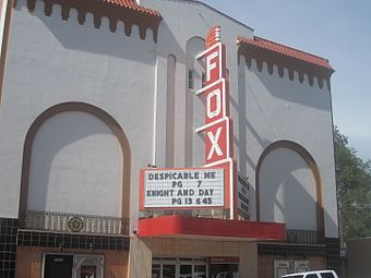 Fox Theatre in downtown.