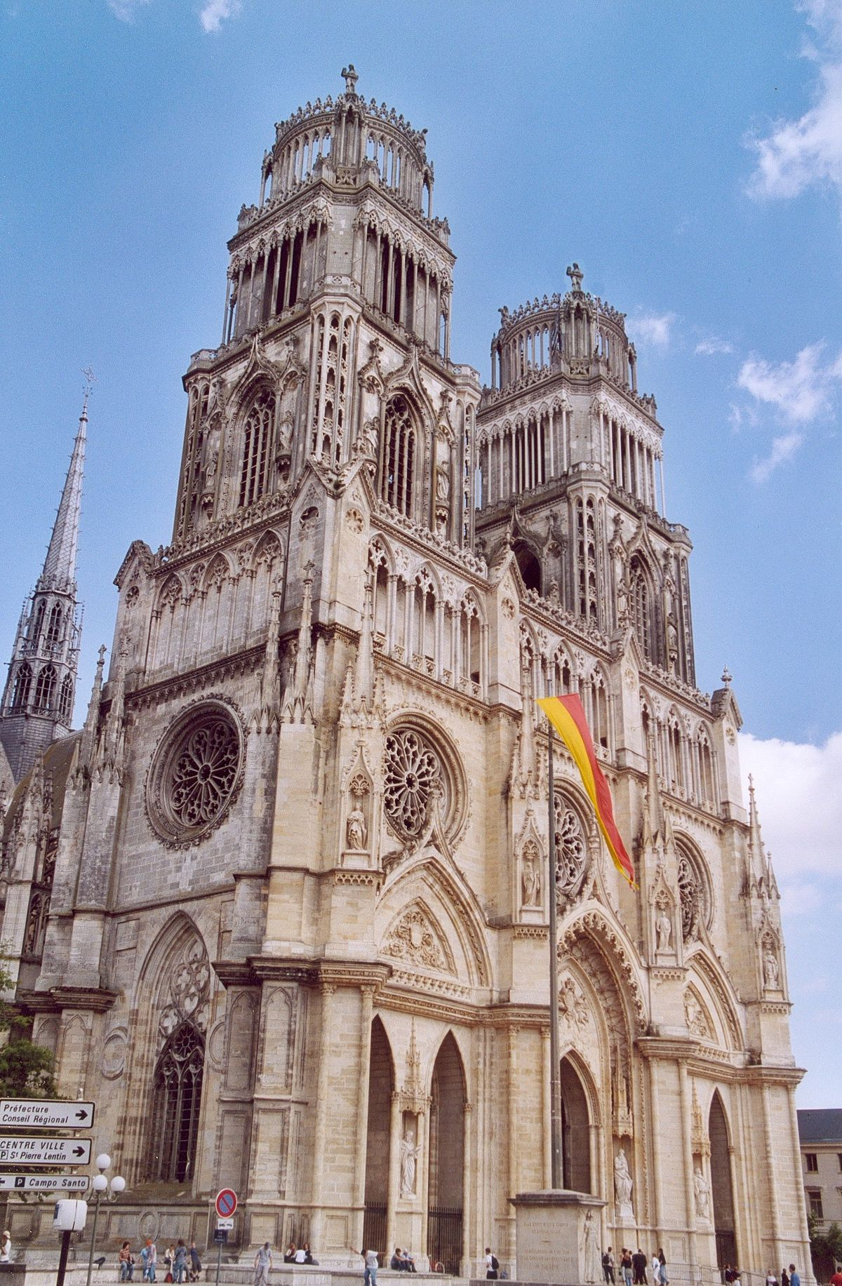 france orleans churches wikipedia catholic roman church cathedral cathedrale buildings diocese catholique francais