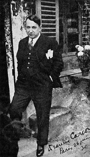 Francis Carco - Francis Carco, ca 1930