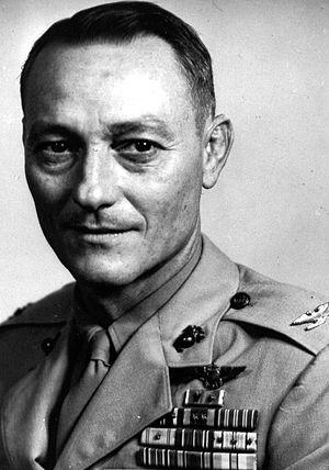 Frank Schwable - Schwable as Colonel, USMC
