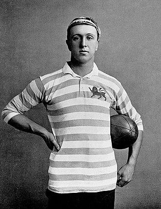 Frank Mitchell (sportsman, born 1872) - Image: Frank Mitchell rugby c 1896