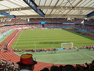 Battle of Nuremberg (2006 FIFA World Cup) - Image: Frankenstadion 1