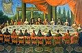 """Frans Geffels """"Uczta w Jaworowie Jana III Sobieskiego"""".jpg"""