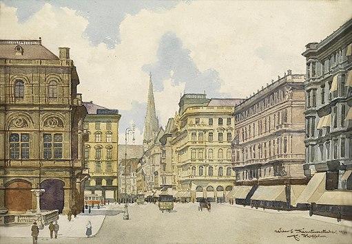 Franz Hoffelner Kärntnerstraße 1926