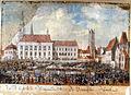 Franz Neuhauser the Younger, Târg anual la Sibiu, 1789.jpg