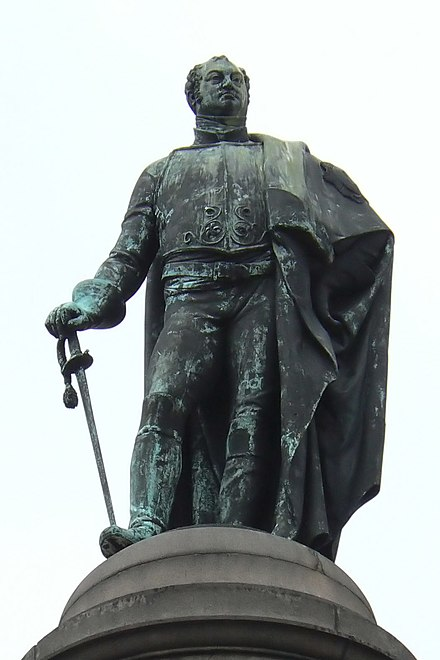 Statue of Frederick Duke of York in Waterloo Place, Westminster, London FrederickDukeofYork594fc.jpg