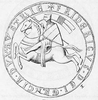 Frederick II, Duke of Austria Duke of Austria and the Duke of Styria from 1230 to his death in 1246