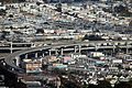 Freeway and residential neighborhoods in San Francisco.JPG