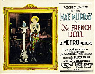 <i>The French Doll</i> 1923 silent film