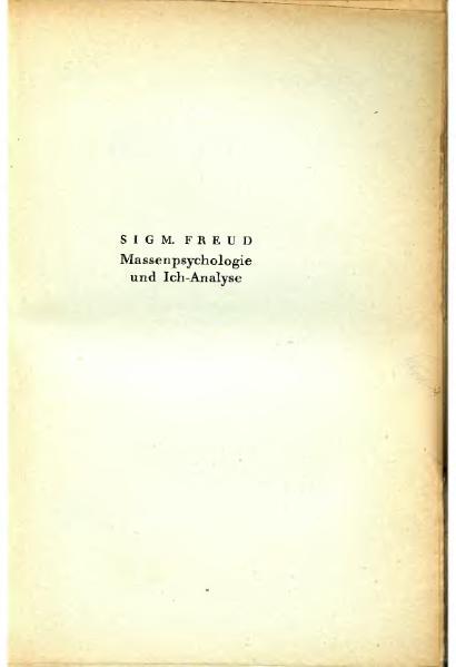 File:Freud 1923 Massenpsychologie und Ich Analyse.djvu