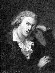A. Graff: Friedrich Schiller (hacia 1790)
