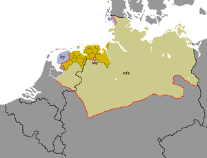 Friso-Saxon dialects - Image: Friso Saxon Languages