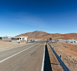 Paranal Observatory - Image: From a Dirt Track to the World's Leading Observatory