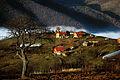 Fshati Cerajë dhe mjegulla.jpg