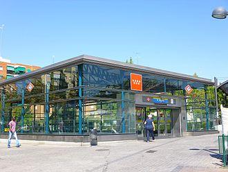 Pradillo (Madrid Metro) - Image: Fuenlabrada Estación de Metro de Pradillo