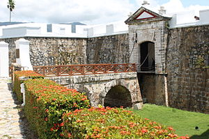 Fort of San Diego - The fort's gate