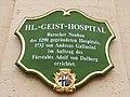 Fulda - Hl. Geist-Hospital (Schild).JPG