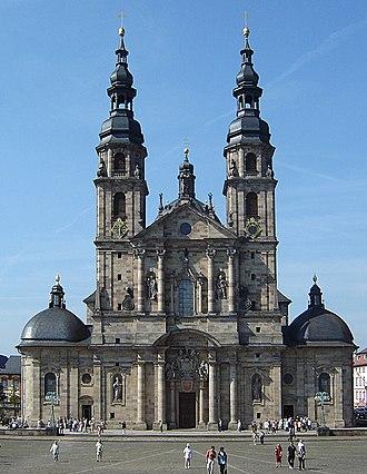 Fulda Cathedral - Image: Fuldaer Dom 028a