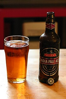 India pale ale hoppy beer style within the broader category of pale ale