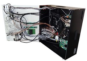 Test fixture - A Functional Test Fixture is a complex device to interface the DUT to the automatic test equipment (ATE)
