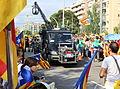 Furgoneta de TV3 que gravava el punter gegant a la Via Lliure 2015.JPG
