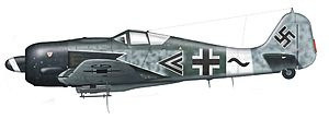 Focke-Wulf Fw 190 operational history - Fw 190 A-8/R8 of IV.(Sturm)/JG 3, flown by Hptm. Wilhelm Moritz