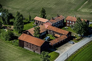 Decorated Farmhouses of Hälsingland - Image: Gästgivars 2