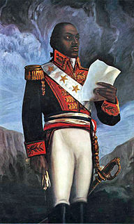 Leader of the Haitian Revolution