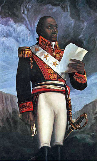 Toussaint Louverture - Posthumous painting of Toussaint Louverture