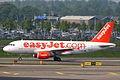 G-EZIK A319-111 easyJet AMS 09MAY06 (5805228277).jpg