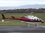 G-OHWK Bell Jet Longranger 206 Helicopter (30951545852).jpg