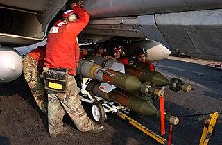 GBU-12 Paveway II Laser guided bomb